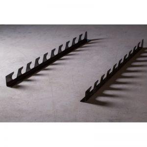 Soporte pared para 10 barras