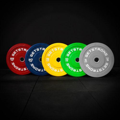 Discos Training Color para CrossFit medidas olímpicas