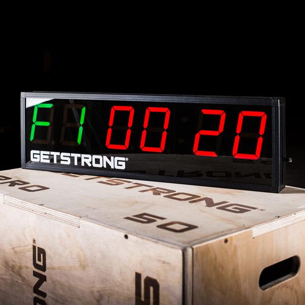 Timer GS Pro para Box de CrossFit, Salas de Entrenamiento Personal y Gimnasios