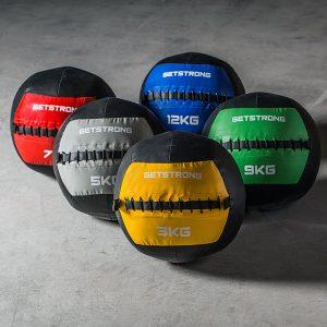 WallBall GS Colour para Box de CrossFit y Entrenamiento Funcional. Núcleo Central de Colores.