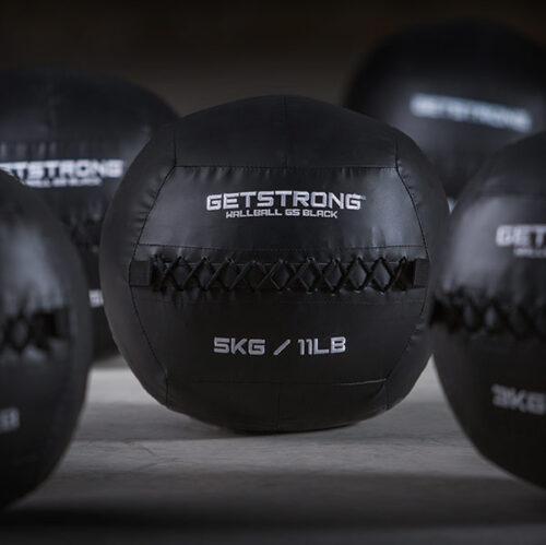 WallBall GS Black para Actividades como CrossFit, Entrenamiento Funcional y Gimnasios.