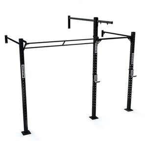 Rack de Pared GS02 de GetStrong para CrossTraining. Puesto para Anillas, Barra, Dominadas, Butterflies, Kipping.