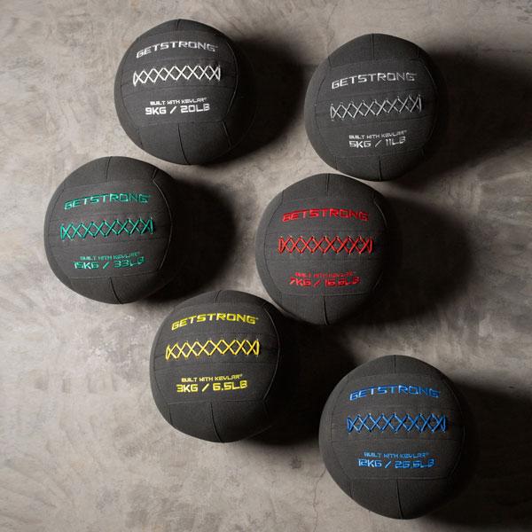 Wall Balls Fabricados en Kevlar. Super Resistentes para Box de CrossFit y Gimnasios