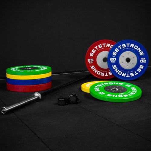 Pack de Discos de Competición para Halterofilia / Weightlifting