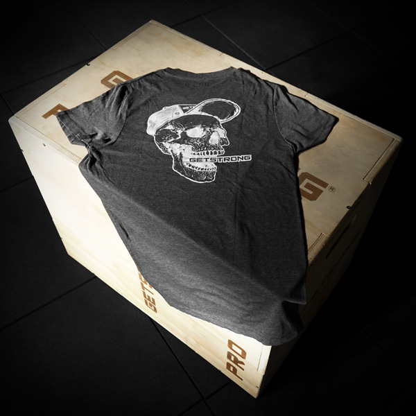 camiseta-crosstraining-calavera-getstrong