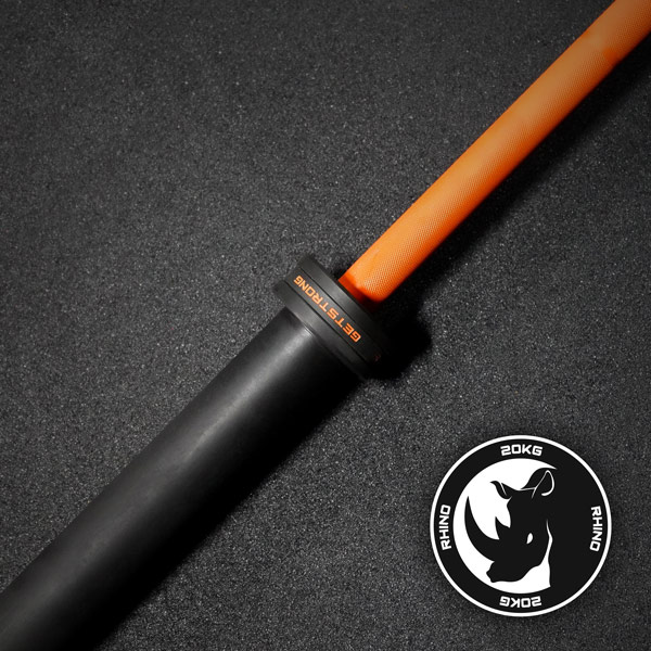 Barra Rhino Orange 20 KG para CrossFit