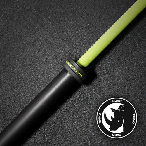Barra Rhino 20 KG Green para CrossFit