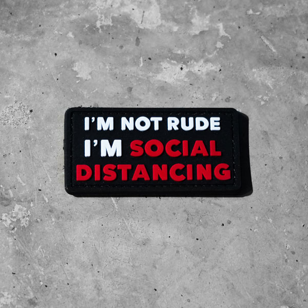 Parcha i am not rude, i am social distancing