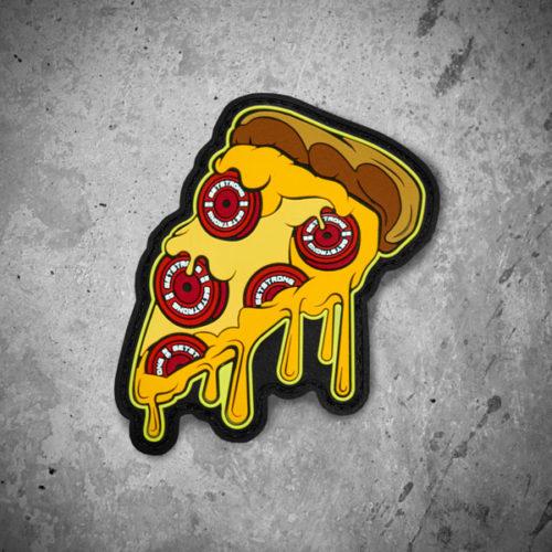 Parche Pizza para chalecos y mochilas de crosstraining