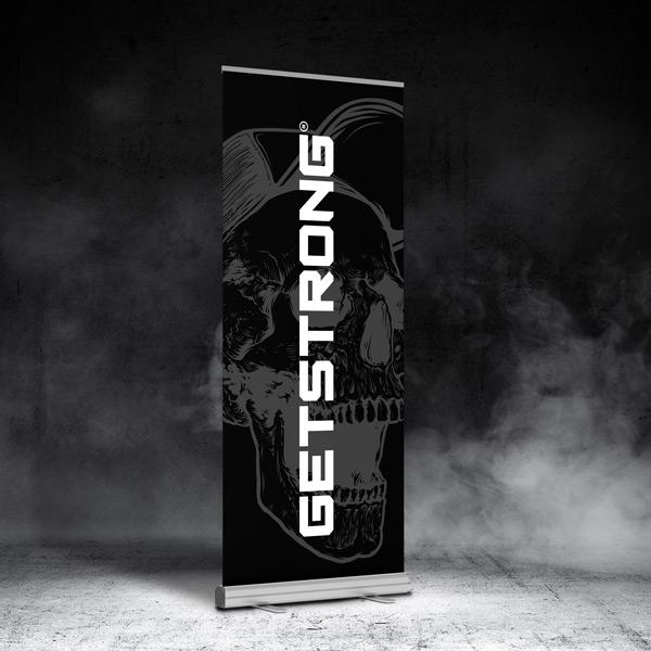 Roll-Up de GetStrong para Gimnasios