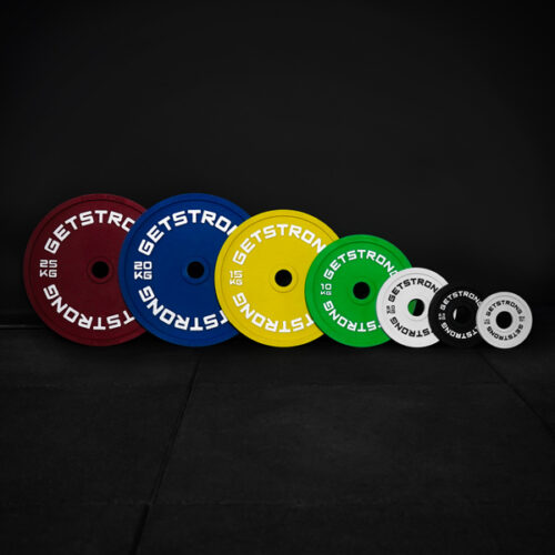 discos calibrados para entrenamientos de powerlifting